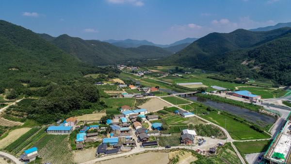 마을이야기-군위인각마을-전경